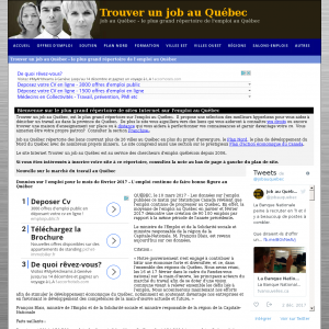 Job au Québec
