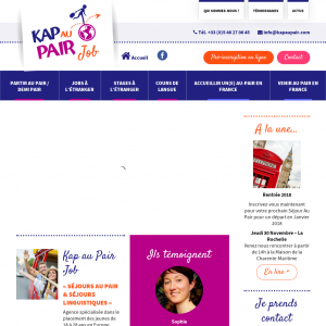 Kap au pair job