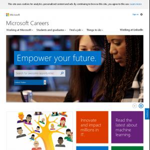 Careers Microsoft