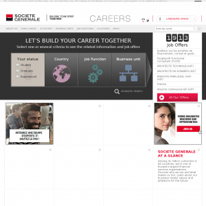 Careers Societe Generale