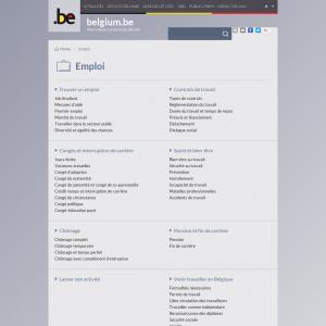 Portail des services publics belges
