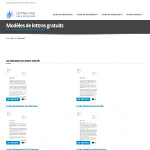 Lettre-utile.fr