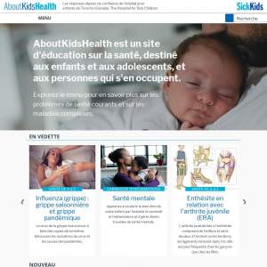 About Kids Health