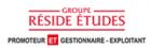 logo site groupe résides etudes